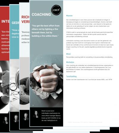 Leaflet FYNCH coaching