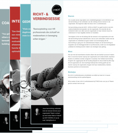 Leaflet FYNCH richt- & verbindsessie