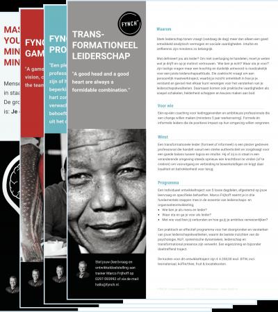 Leaflet Transformationeel leiderschap